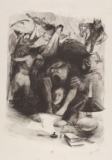 Baudelaire par Veber